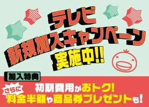 I.C.T30周年大感謝テレビ新規加入キャンペーン実施中!!